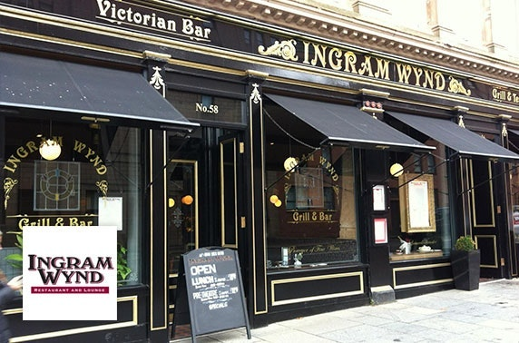 Ingram Wynd dining, Merchant City