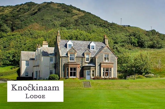 5* Knockinaam Lodge stay