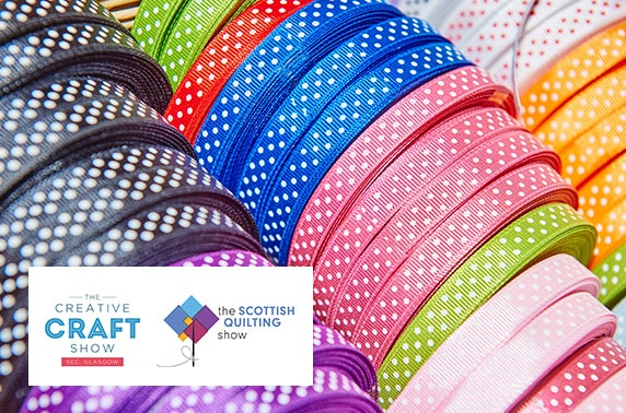 The creative craft show and the scottish quilting show for Quilt and craft show