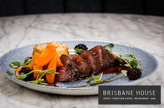 Brisbane House dining, Largs