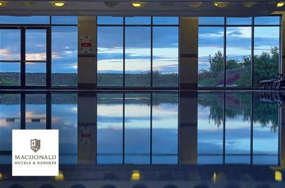 4* Macdonald Marine Hotel spa day