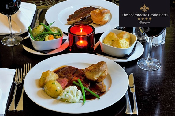 Sherbrooke Castle Sunday roast