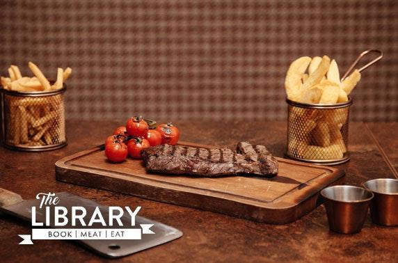 The Library steaks, Bearsden