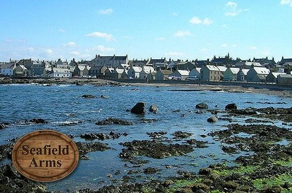 Seafield Arms 2-course dining, Moray Coast