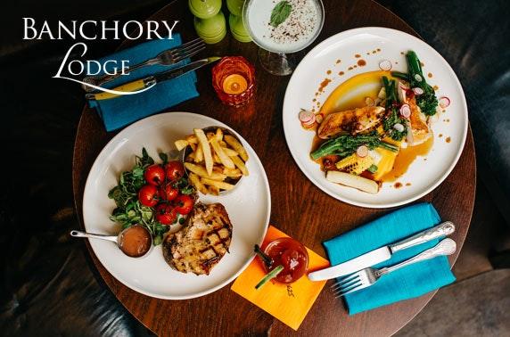 Banchory Lodge stay