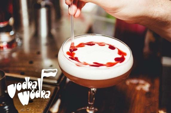Vodka Wodka cocktails & bites, Ashton Lane