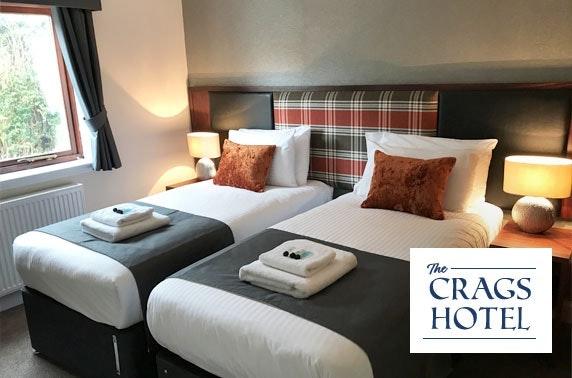 Callander getaway at The Crags Hotel