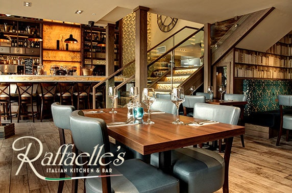 Dinner at Rafaelle's Italian Bar & Restaurant