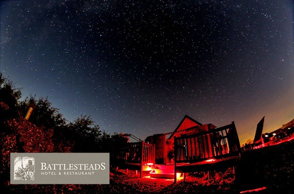 Battlesteads luxury 2 nt stay & observatory experience