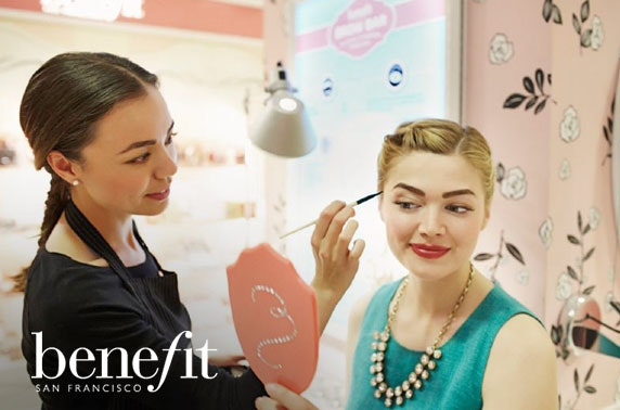 Benefit makeover, House of Fraser