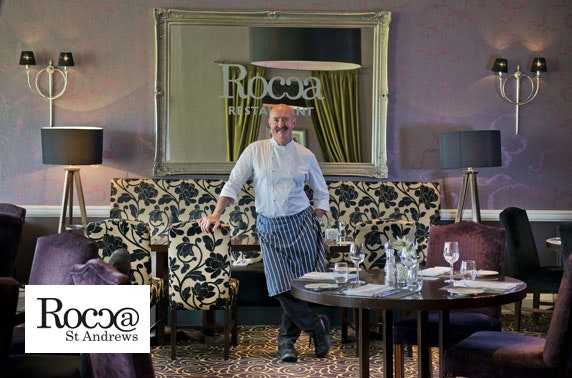 Rocca 5 course dining & wine, St Andrews