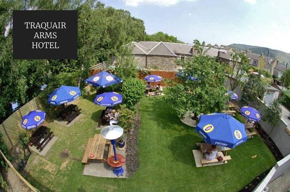 Traquair Arms Hotel stay, Scottish Borders