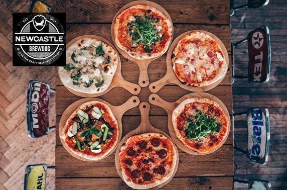 BrewDog Newcastle Pizza & drinks