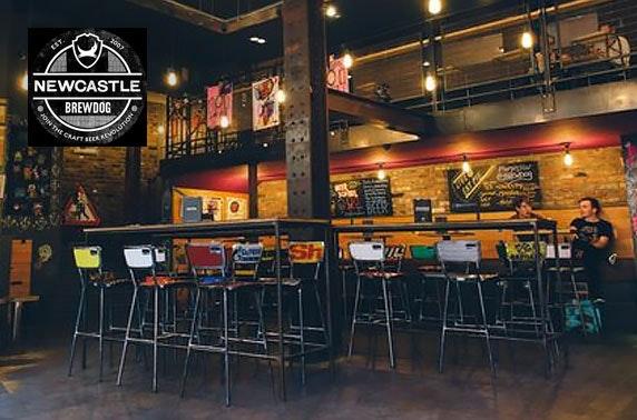 BrewDog Newcastle pizzas & drinks