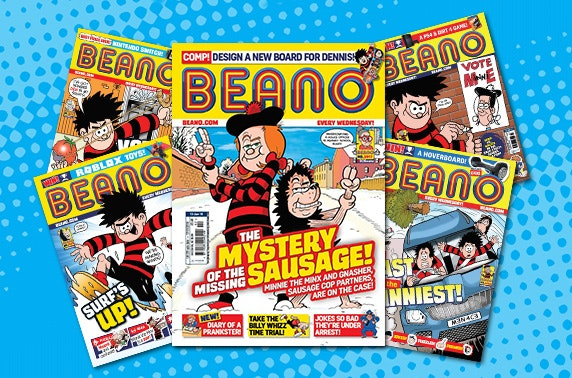 Beano Subscription From 1 Per Issue Messages Itison