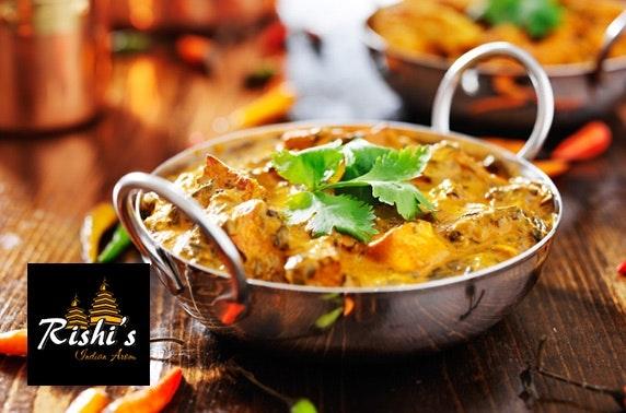 Rishi's Indian dining