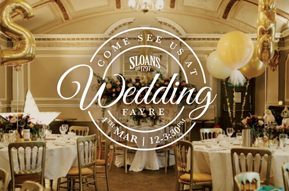 Free Tickets To Sloans Wedding Fayre Itison