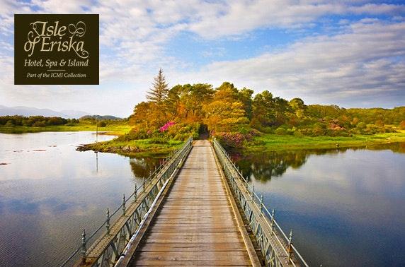 5* Isle of Eriska Hotel, Spa & Island getaway