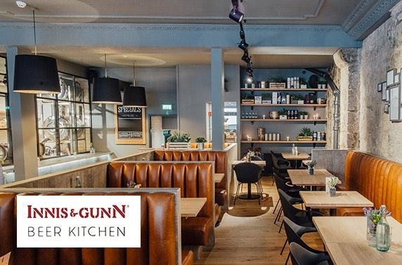Innis & Gunn Beer Kitchen, Edinburgh dining – itison