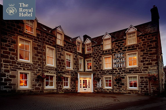 The Royal Hotel stay, Comrie - £79