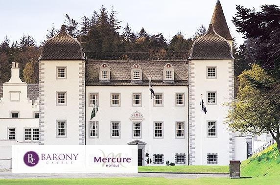 Barony Castle stay, Peebles - £59