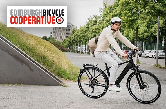 Electric bike hire - from £12.50pp