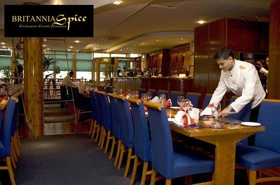 AA Rosette-awarded Britannia Spice dining
