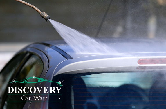 Discovery Car Wash valet