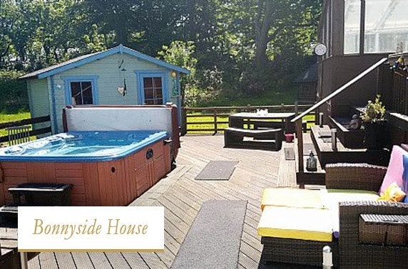 Group getaway with hot tub, Bonnyside House