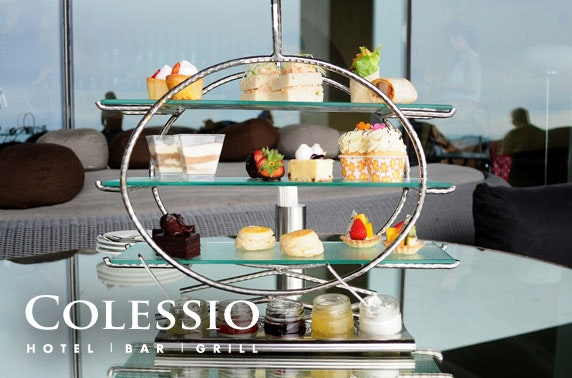 Afternoon tea at Hotel Colessio