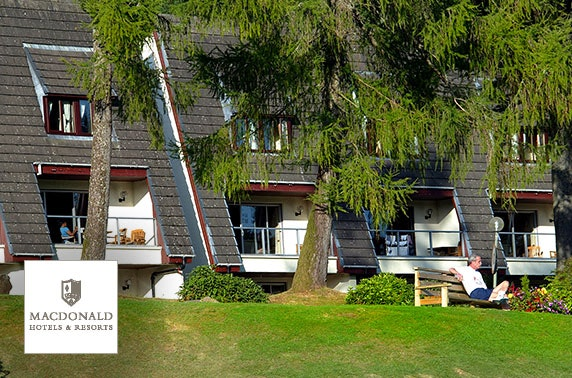 Macdonald Forest Hills lodges - from £10pppn