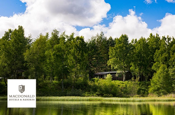 Macdonald Lochanhully Resort lodges - £12pppn