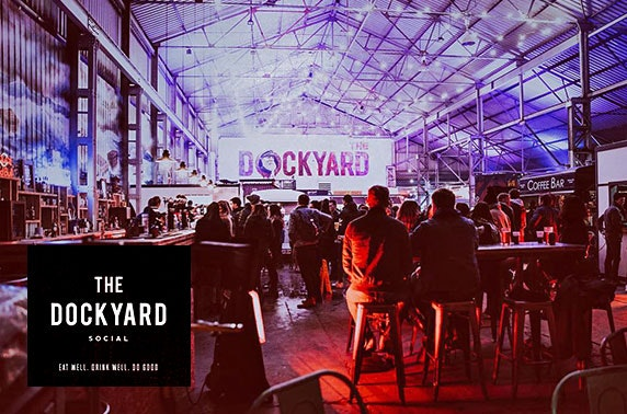 The Dockyard Social tickets, Finnieston