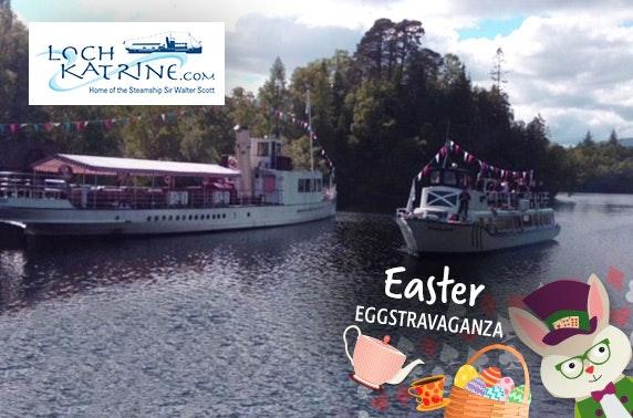 Easter Eggstravaganza sailings at Loch Katrine