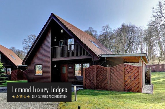 5* Lomond Luxury SuperLodge with private hot tub & sauna