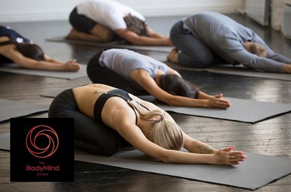 Bikram yoga at The BodyMind Studio, Finnieston