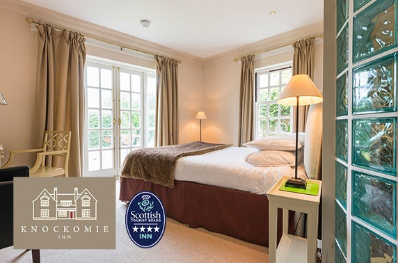 4* Knockomie Hotel stay, Forres
