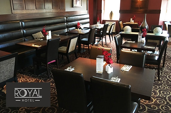 The Royal Hotel dining, Cumnock