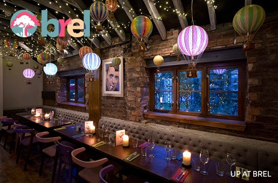 Private dining at Brel, Ashton Lane