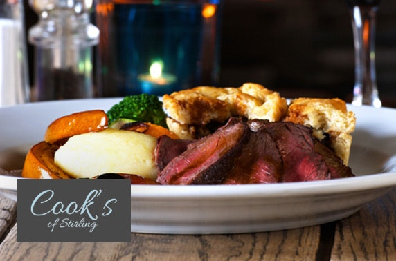 Sunday lunch at 4* Cook's of Stirling