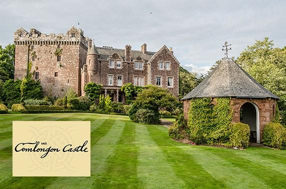 Comlongon Castle stay