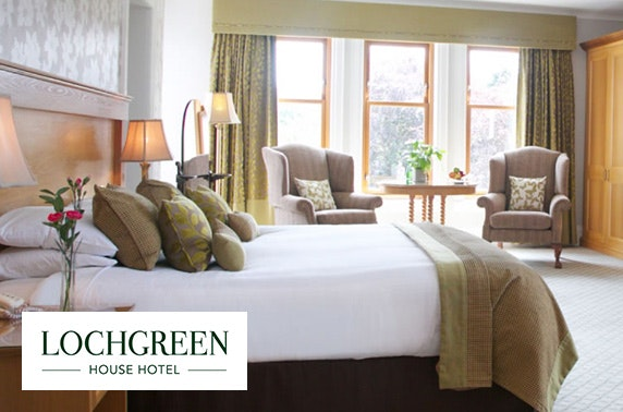 Luxury DBB at 5* Lochgreen, Troon