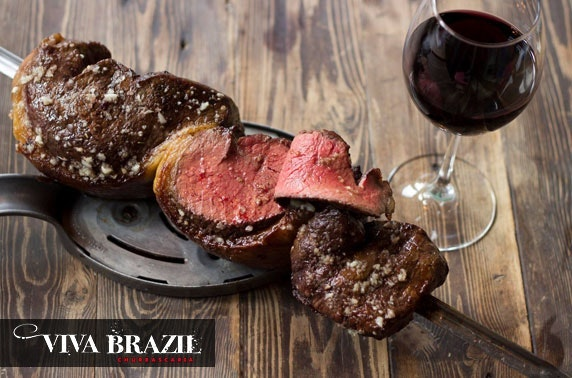Viva Brazil all-you-can-eat lunch & drinks