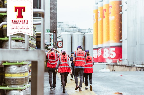 Tennent's brewery tour and beer tasting masterclass