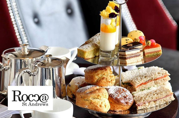 Afternoon tea at 3 AA Rosette-awarded Rocca, St Andrews