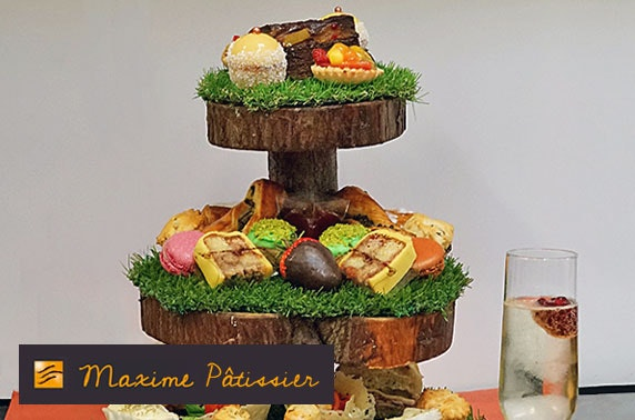 Patisserie Maxime afternoon tea & Prosecco