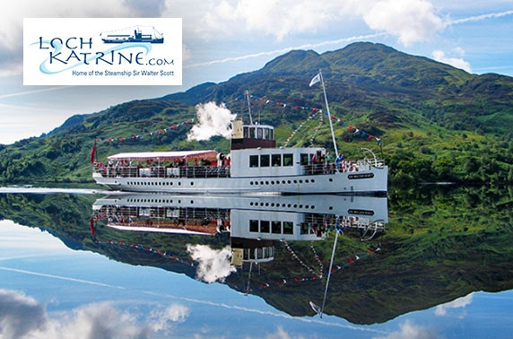 Loch Katrine cruise & afternoon tea