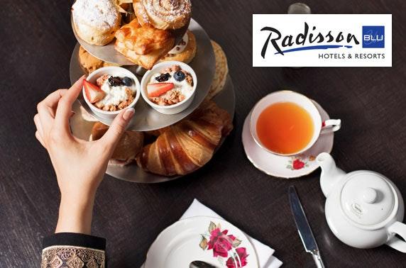 4* Radisson Blu morning tea