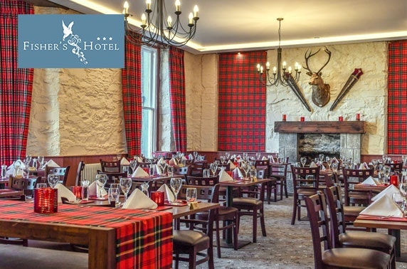 Fisher's Hotel Sunday DBB, Pitlochry - £89