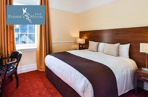 Fisher's Hotel Sunday DBB, Pitlochry - £79